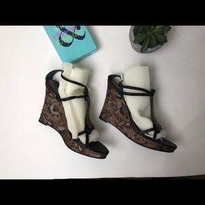 Nine West sandals, sz 10M